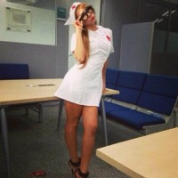 [INSTAGRAM] 130825 CL Updates with Sexy Pose in a Nurse Outfit